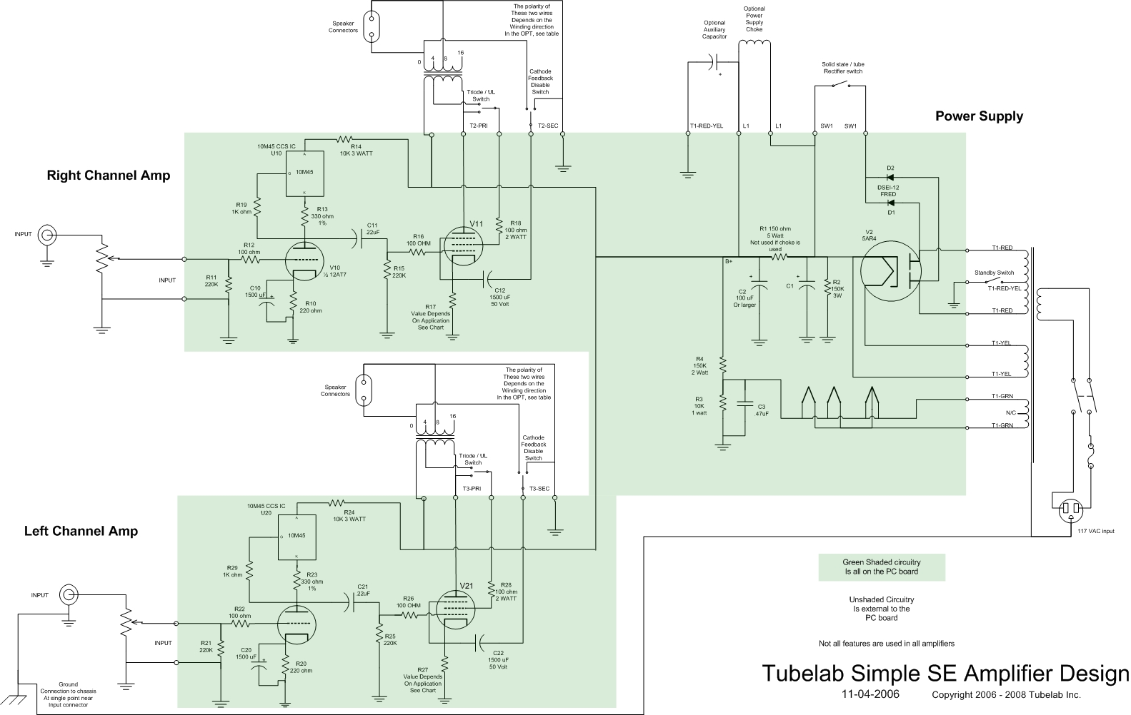 148638 Tube Se  lifier 6p3s Russian Tube besides Schematic furthermore 807 Tube  lifier Schematic     Triodeel   Schindex Htm also 2x30 Volt 6  er Smps further 2x25w Stereo Power  lifier With S 4141ii. on tube power amp schematic