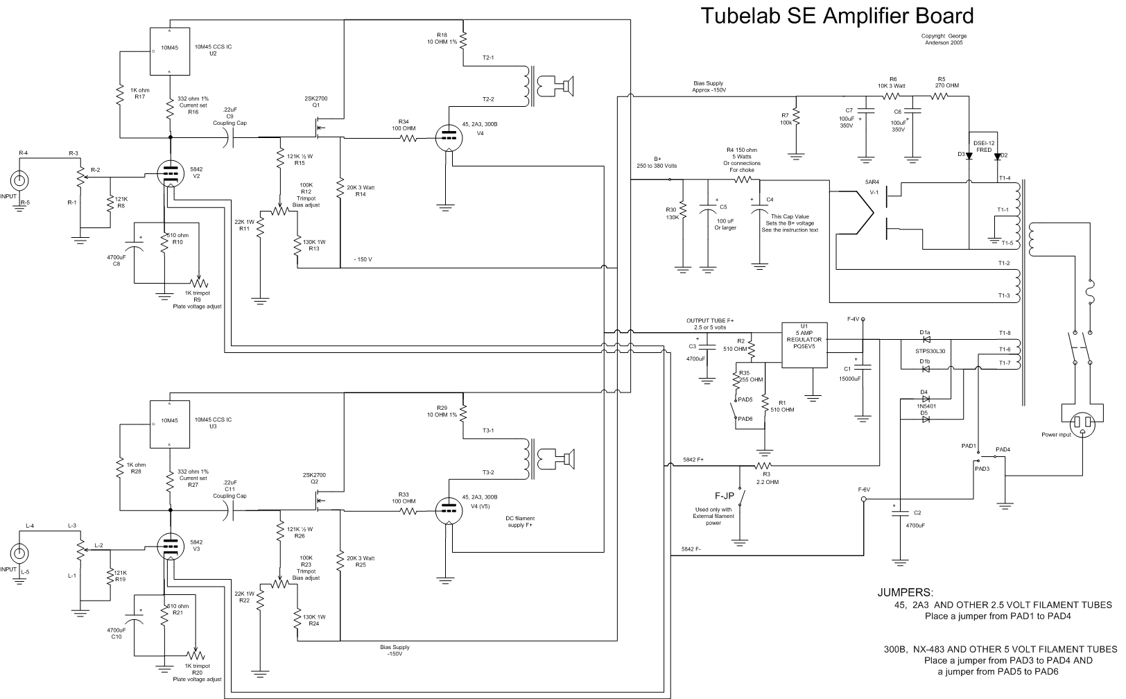 Schematic Tubelab Design Schematics Designs Se